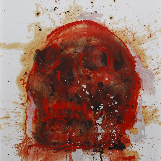 Philippe Pasqua Vanité Rouge
