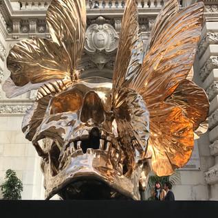 Philipe Pasqua Vanité aux papillons