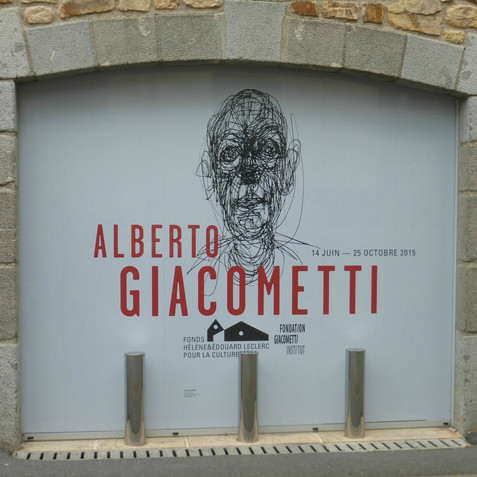 l'expo Giacometti à Landerneau