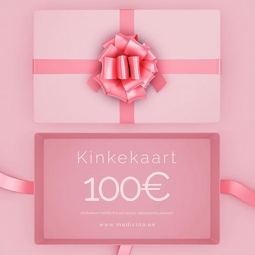 Digitaalne Kinkekaart 100€