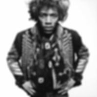 Gered MANKOWITZ Jimi Hendrix 1967 Photographs, gelatin silver print on paper 76 cm x 102 cm Numbered 20/25