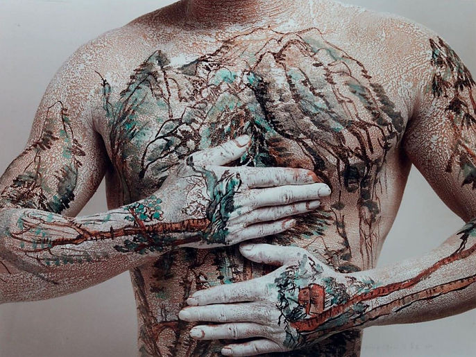 HUANG YAN Chinese Tattoo Series 1999 Photographs, gelatin silver print on paper 106 cm x 81 cm 12 Copies 7 000€