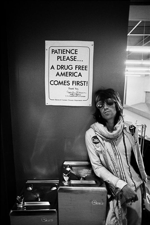 Ethan RUSSEL /Keith Richards photography