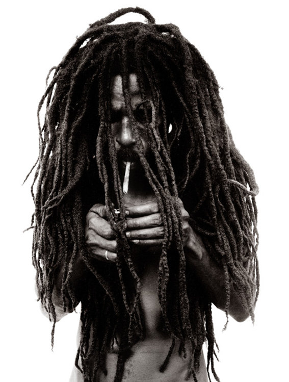 Donald GRAHAM Rastafarian Smoking A Joint 1997 Photographs, gelatin silver print on paper 500 mm x 600 mm Numbered 6/25 INQUIRY Your Name (required)  Your Email (required)  Subject (name of the artwork)  Your Message   Send