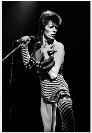 Claude GASSIAN David BOWIE, Londres 1973 Numbered 1/5 92 x 133 cm Photographs, gelatin silver print on paper