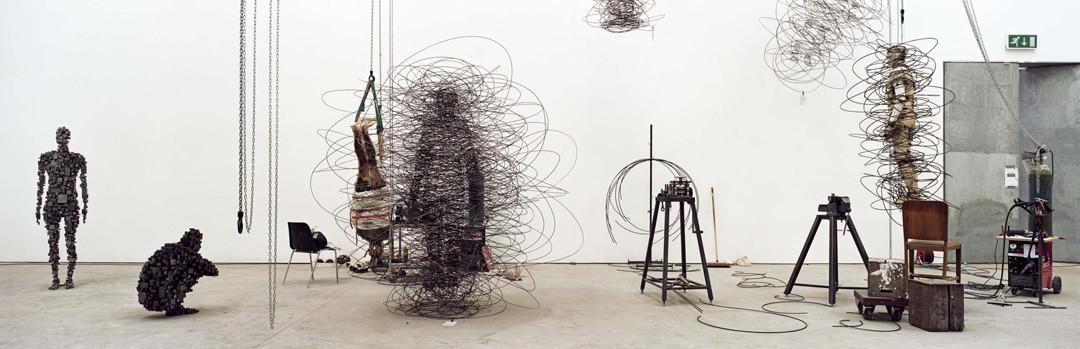 Gautier DEBLONDE Atelier de Antony GORMLEY 2004