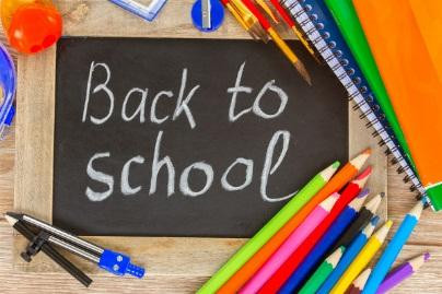 It's Back to School Time Again!
