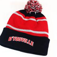 D'Youville Winter Pom Beanie
