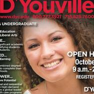 D'Youville Ad Design