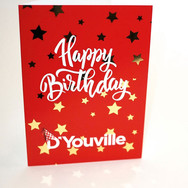D'Youville Happy Birthday Card