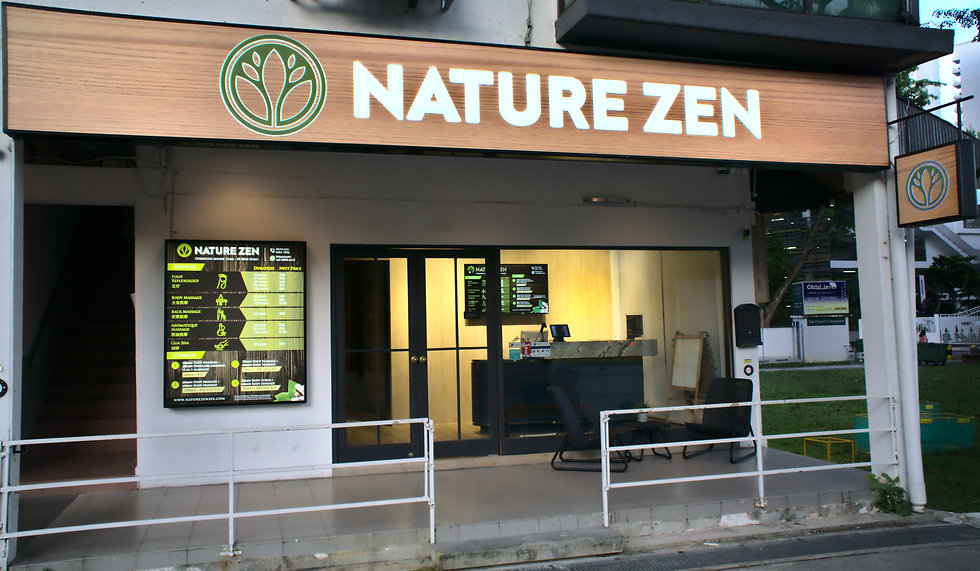 Nature Zen Spa Shop Front