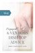 Engaged? 6 Vendors Dish Top Wedding Advice!