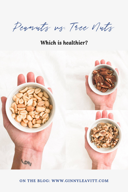 Which is healthier? Peanuts vs. Tree Nuts