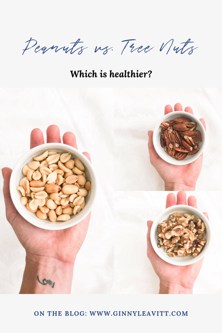 You may want to put down the peanut butter, and switch to an all-natural nut butter! Read on to see why peanuts are not as healthy as other tree nuts. www.ginnyleavitt.com
