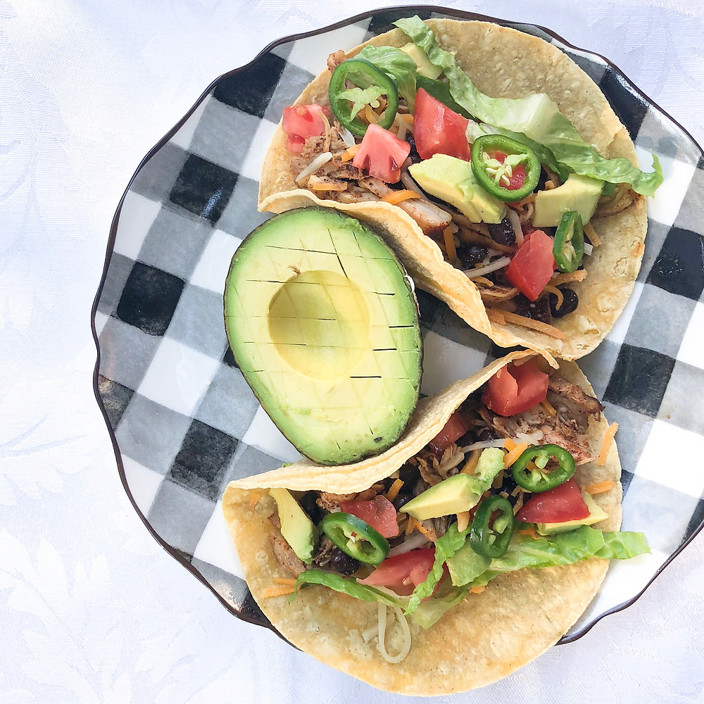 Tacos are a great healthy recipe for brides to lose weight before their wedding. Wedding weight loss program. www.ginnyleavitt.com
