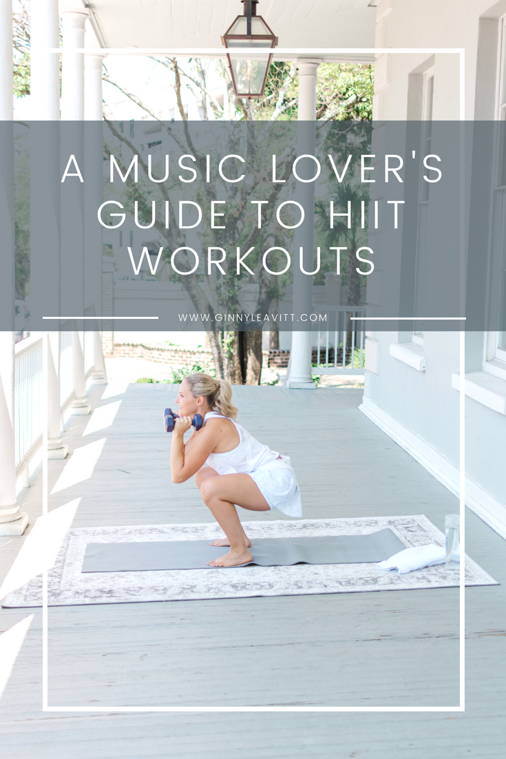 Using music to help coach you through your home HIIT workout so you can lose weight and look great for your wedding. The Healthy Bride Experience. www.ginnyleavitt.com