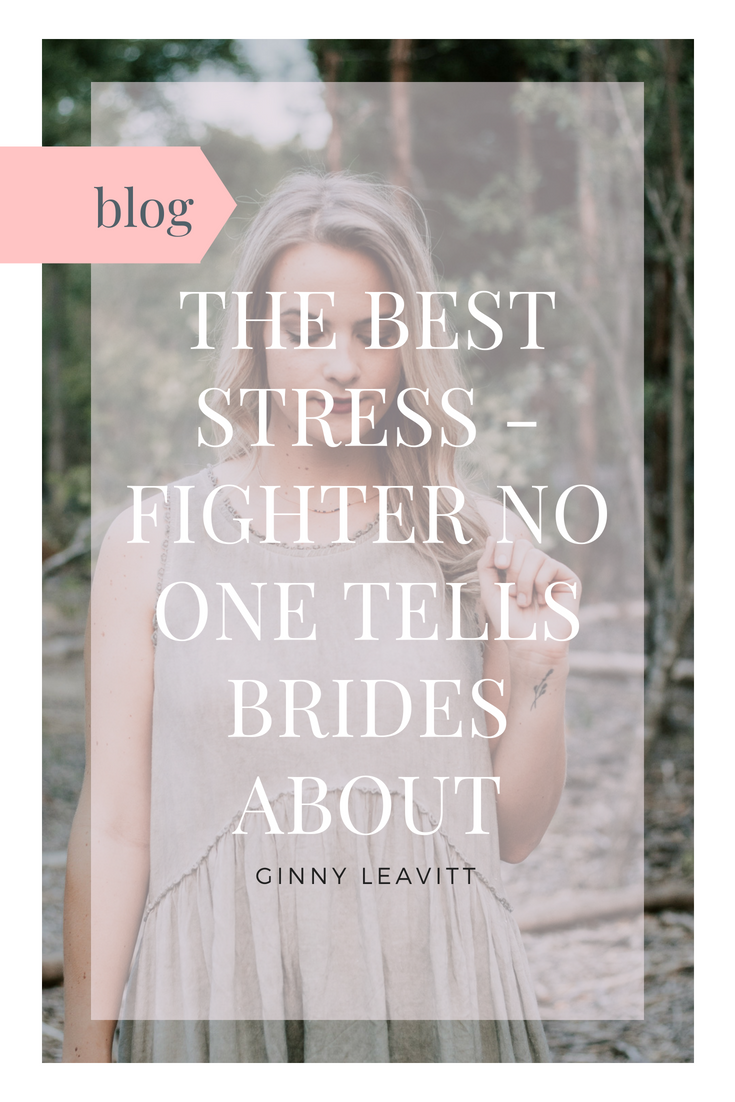 Stress-free wedding techniques offered by Bridal Health Consultant Ginny Leavitt.