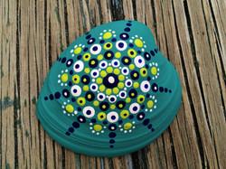 clam shell mandala