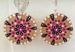 mandala earrings