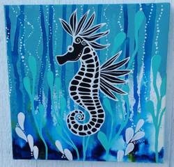 """""""deep blue seahorse"""""""