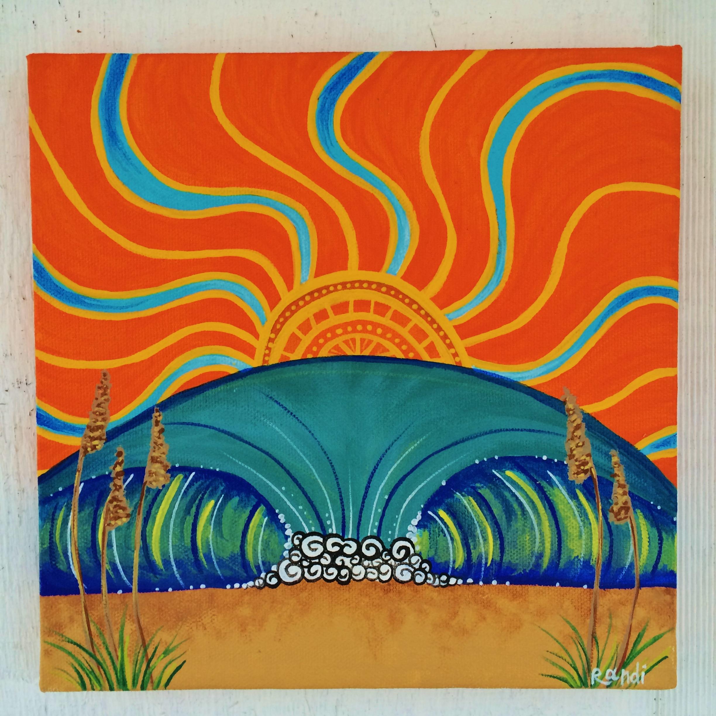 """""""sunrise and sea oats"""""""