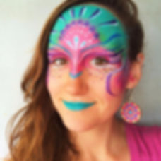 Outer Banks face painter - Spinfinite Designs - Hatteras Island - Face painter - Body painter - OBX