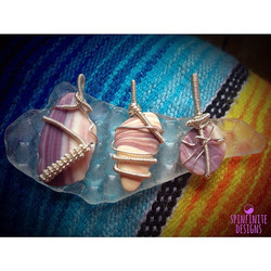 wampum shell pendants