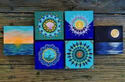 custom mini paintings
