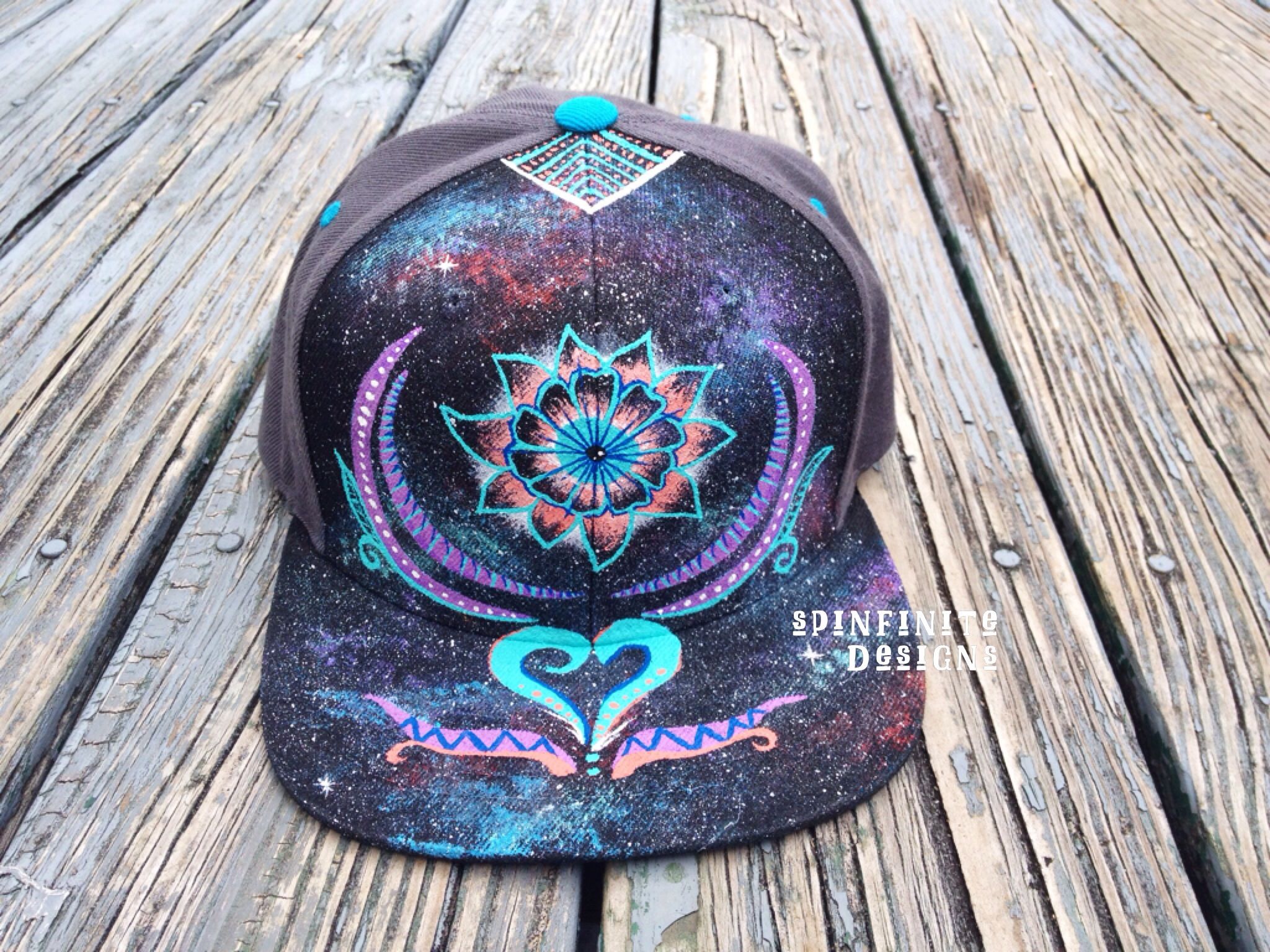 hand-painted hat