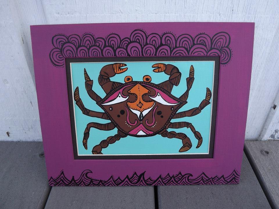 psychedelic crab