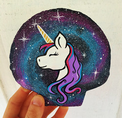 unicorn mermaid mandala
