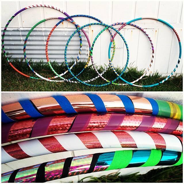 handmade hula hoops