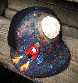 hand-painted kids' hat