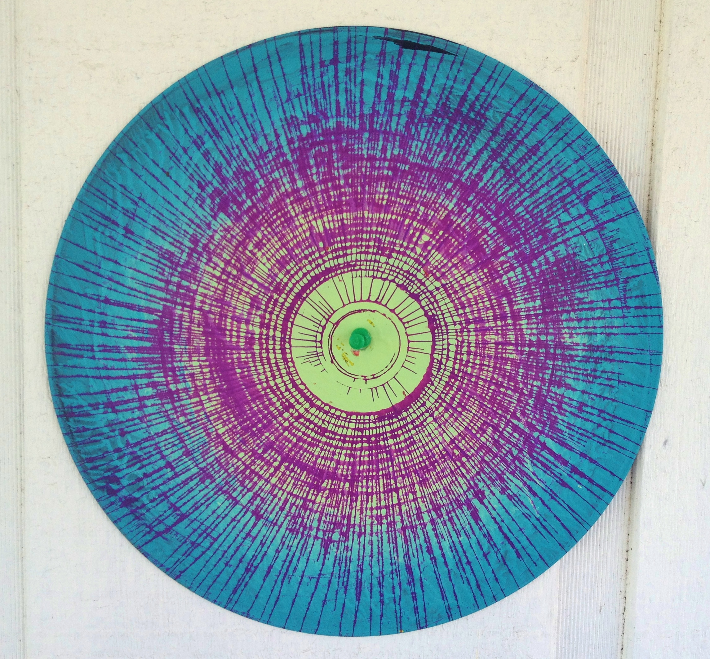 spin-art record