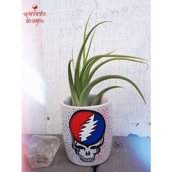 """""""steal your face"""" plant holder"""