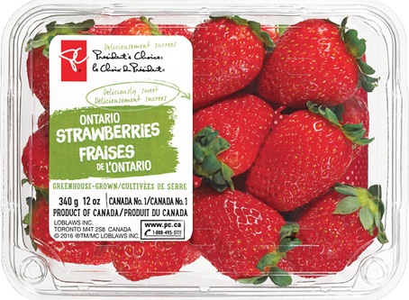 Greenhouse Strawberries – Deliciously Sweet