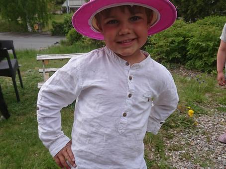 En stor dag - Adrian 6 år