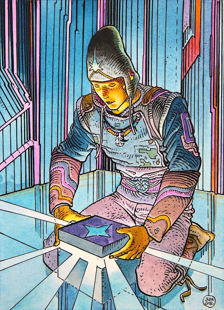 Art by Jean Giraud a.k.a Moebius