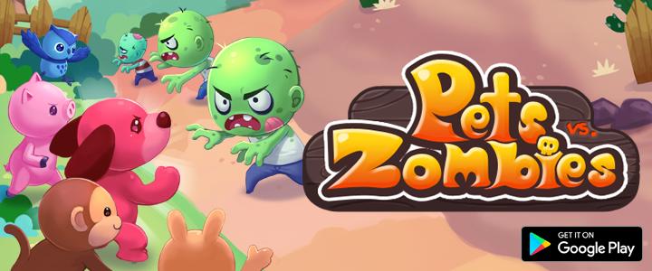 Pets vs. Zombies 국내 출시