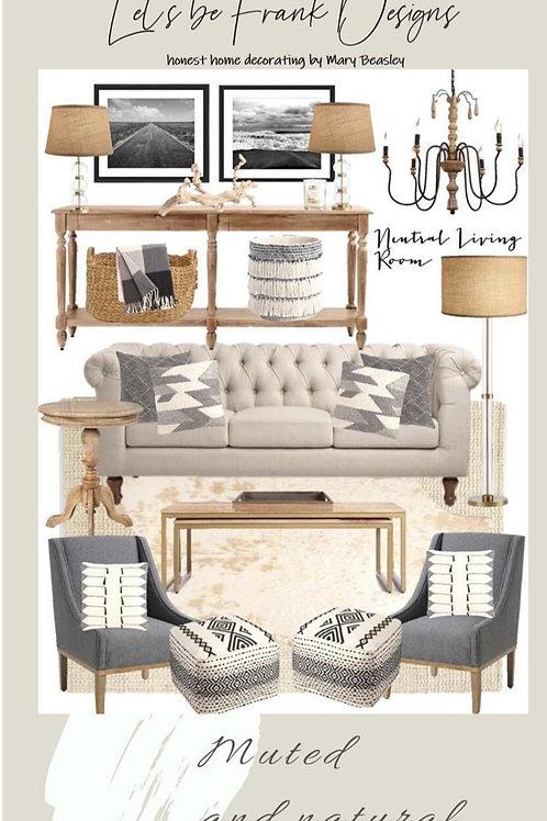 Custom Room E-Design | Interior Design Digital File