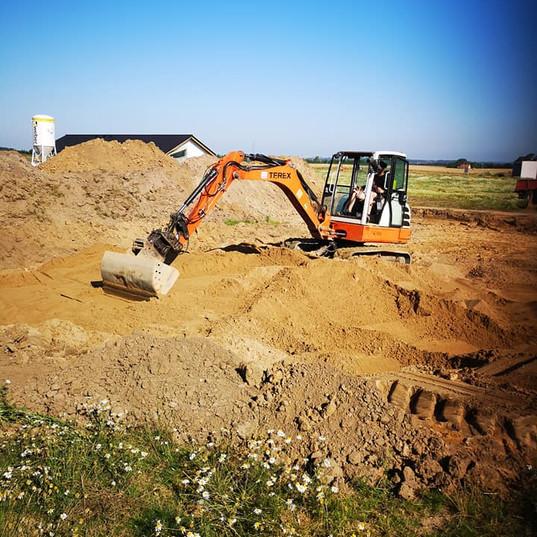 Opbygning af sandpude