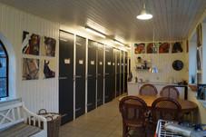 Rytterstue med køkken og toilet, fri kaffe the og kakao - mulighed for at købe sodavand