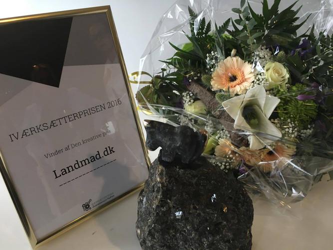 Landmad vinder iværksætter prisen i Midtjylland