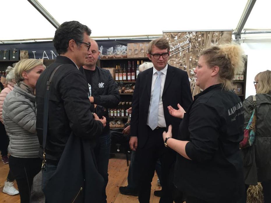 Foodfestival i Aarhus - fint besøg af Troels Lund Poulsen