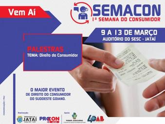 Procon de Jataí promove 1ª Semana do Consumidor.