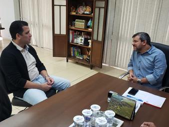 Presidente apresenta projeto da Jataiense ao prefeito