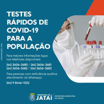 Prefeitura de Jataí realiza balanço geral da testagem na população