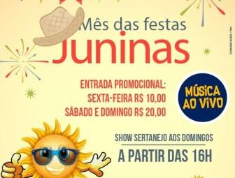 Thermas Jatahy terá preços especiais de entrada neste mês de junho
