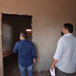 Prefeito de Jataí faz vistoria na obra de construção da nova sede da CPE