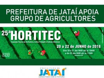 Com o apoio da prefeitura grupo de agricultores jataienses irão atualizar conhecimentos na Hortitec